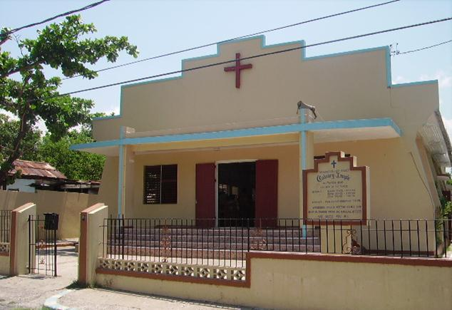 calvary temple in